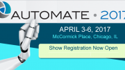Automate 2017 To Showcase Latest Robotic Manufacturing Technology