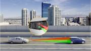3D Flash Lidar Creates Vehicle Surroundings Model Using Time-Of-Flight Measurement