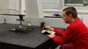 Precision CMM Meets Productivity For Aerospace Component Inspection