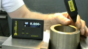 Wireless Test Indicator Aids Part Centering On Machine Tools