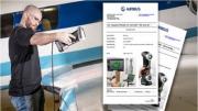Creaform Handyscan 3D Scanner Certified by Airbus