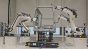 Automated Part Transportation Into Optical Robotic Inspection Cell