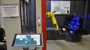 Robotized Structured Light Scanning System Measures Volvo Cars Trim Parts