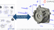 Capvidia Makes Model Based Definition Practical Reality for Creo Users
