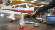 3D Laser Scanning Technology Keep Aging Aircraft Flying