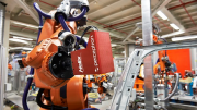 In-Line Metrology Guided RobotsTo Aid Vehicle Assembly