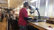 Visual Inspection Equipment Ensures Handmade Shoe Quality