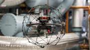 Safe Collision Tolerant Flying Robot for Industrial Inspection