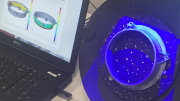 Optical CMM Measures Small Cast Parts Automatically