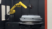 Optical Robot Metrology Speeds up Final Inspection of Complex Aerospace Assemblies