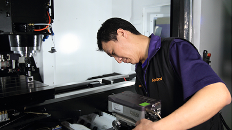 Renishaw And Hartford Combine To Deliver Intelligent Smart Factory