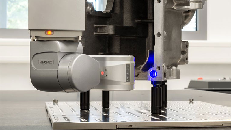 Versatile Blue Line Laser CMM Scanner Launched – Metrology