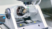 Optical CMM Performs Critical Turbine Blade Cooling Hole Measurements