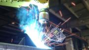 Laser Scanner Guides Adaptive Robotic Welding