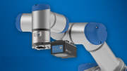 Smart Vision Sensor Controls Collaborative Robots