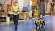 Automotive Manufacturing Facility Robotic 3D Scanning