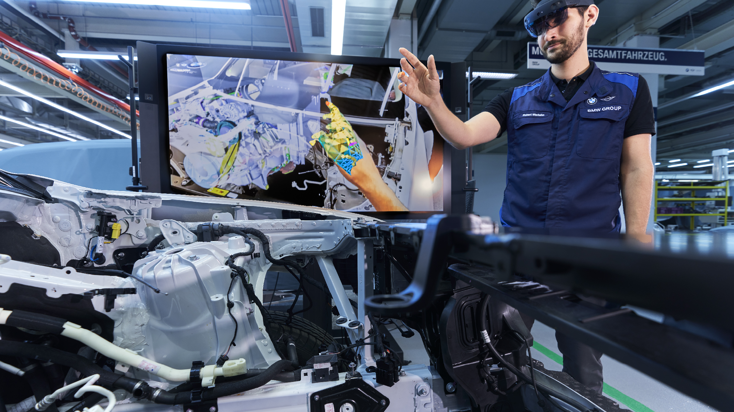 Bmw Uses Augmented Reality In Vehicle Prototyping Metrology And Quality News Online Magazine