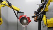Duplex Robotic CT System Scans Large Parts