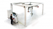 Gantry X-ray System Inspects Large Aerospace Parts