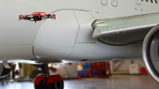 Drone-Based Automatic Dent Inspection Maps Fighter Jet In One Hour